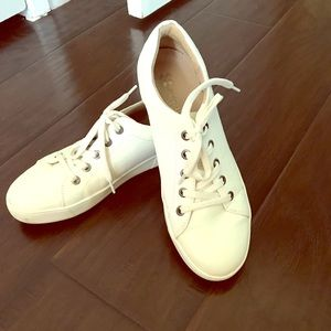 Naturalizer white shoe